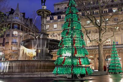 Fabrice Peltier's Used Plastic Bottles Christmas Tree 2
