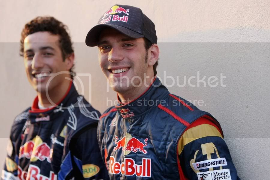 Jean-Eric Vergne and Daniel Ricciardo